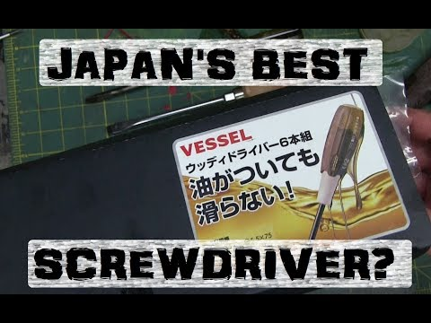 BOLTR: GRIPPY OIL & GREASE SCREWDRIVER | JAPAN