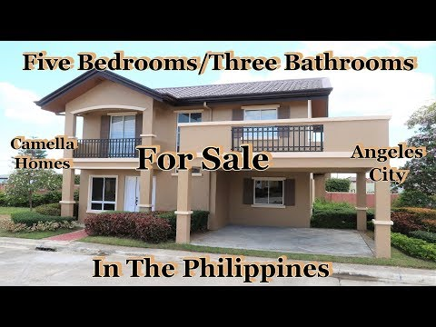 Prices Of Five Bedrooms/Three Bathroom Homes In The Philippines : Camella Homes - Angeles City