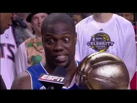 Kevin Hart NBA Celebrity Game MVP Speech [HD]