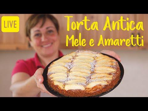 TORTA ANTICA DI MELE E AMARETTI - Ricetta Facile in Diretta