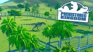 JURASSIC WORLD SIMULATOR!!! - Prehistoric Kingdom | Part 1