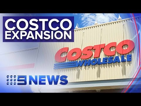 Costco Makes Move Into Online Grocery Home Delivery | Nine News Australia