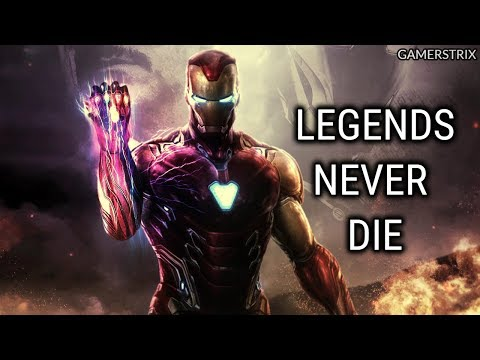 Tony Stark   Legends Never Die
