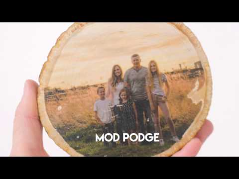 photo transfer onto wood  3 different ways!