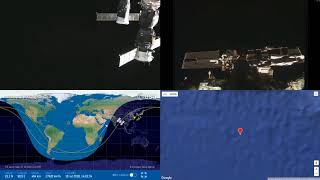 Sunset Over India - NASA/ESA ISS LIVE Space Station With Map - 30 - 2018-07-18