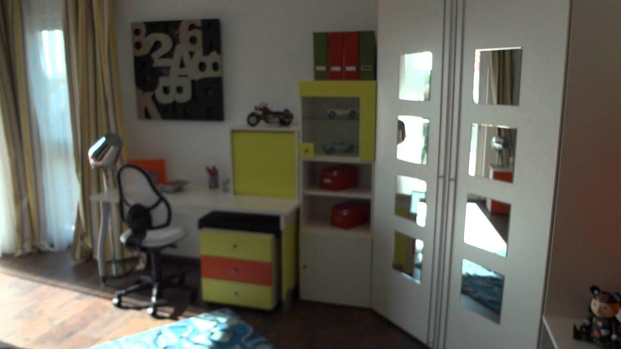 Rundgang durchs Traumhaus 22.10.11 Fertighauswelt Frechen - YouTube