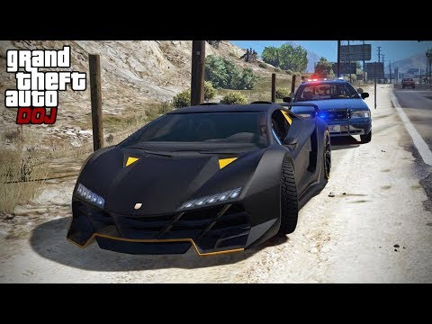 GTA 5 Roleplay - DOJ 247 - Super Car Speeders (Criminal)