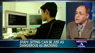 STUDY: Sitting Can Be Just as Hazardous to Your Health as Smoking