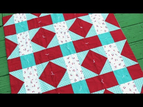 How to Tie a Quilt Tutorial - YouTube : quilt tacking - Adamdwight.com