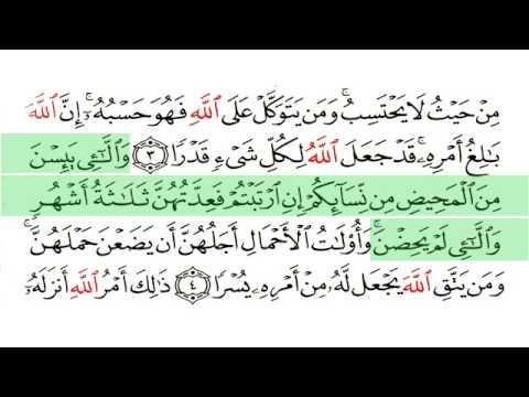 At Talaq-Surat 065-Ghamdi