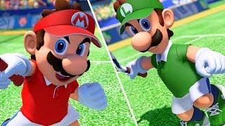 Mario Tennis Aces - COM Tournament - Mushroom Cup