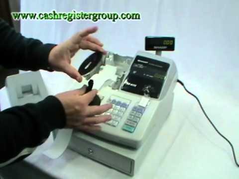 Manual Registradora Sharp Xe A203