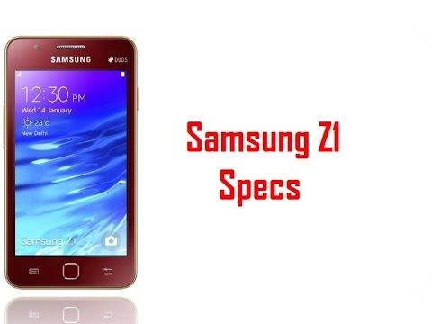Samsung Z1 Specs & Features