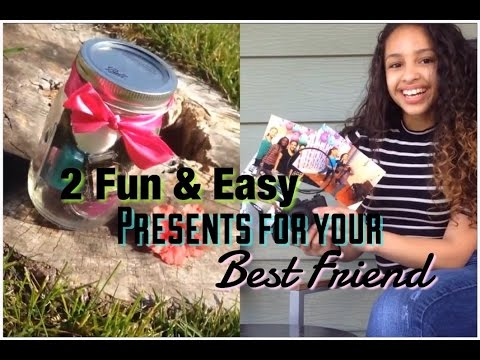 2 Fun Easy Diy Presents For Your Best Friend Youtube