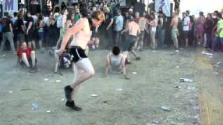 Warped Tour 2010 'Fart of Death' - Funny mosh pit, Hillsboro OR