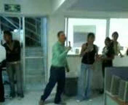 kordi de la unid kn say en el karaoke