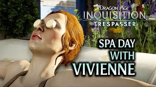 Dragon Age: Inquisition - Trespasser DLC - Vivienne Spa Day feat. cheese wheels, ham & banana mace