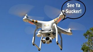 DJI Phantom 3/4 Drone Flyaway Tips-What To Do In Any Situation