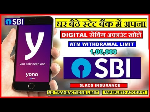 Open zero balance bank account online in sbi