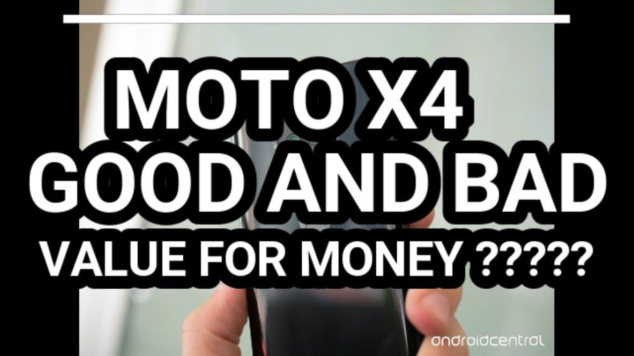 Moto X4 : price, specs, good, bad, Value for money ?? - YouTube
