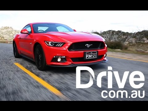 2016 Ford Mustang GT First Australian Drive Review | Drive.com.au