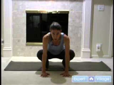 how to do the crow yoga pose  youtube