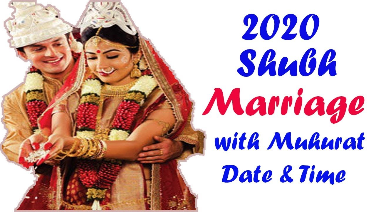 2020 Hindu Marriage Dates With Muhurat Or Shubh Time
