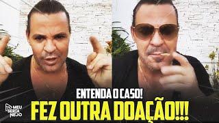 EDUARDO COSTA SURPREENDE a TODOS com OUTRA DOAÇÃO!