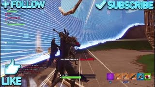 21 Frags Squad with the best skin on Fortnite Battle Royale