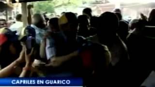Henrique Capriles visitó el municipio San Gerónimo de Guayabal, en el estado Guárico.
