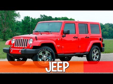 🎃 Jeep — американские джипы. Машины внедорожники.
