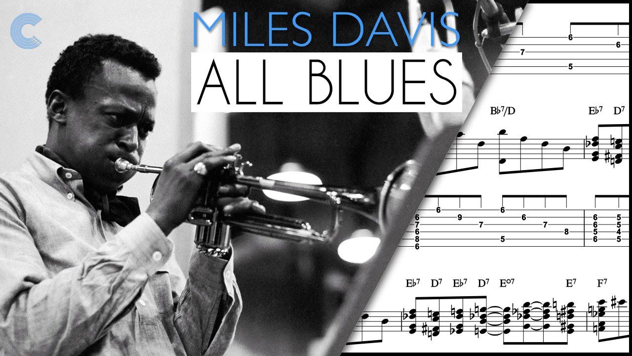 Bb Treble Clef - Lead Sheet - All Blues - Miles Davis - Sheet Music,  Chords, & Vocals