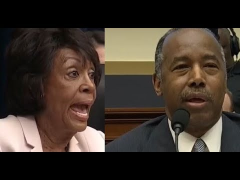 Maxine Waters Confronts Ben Carson