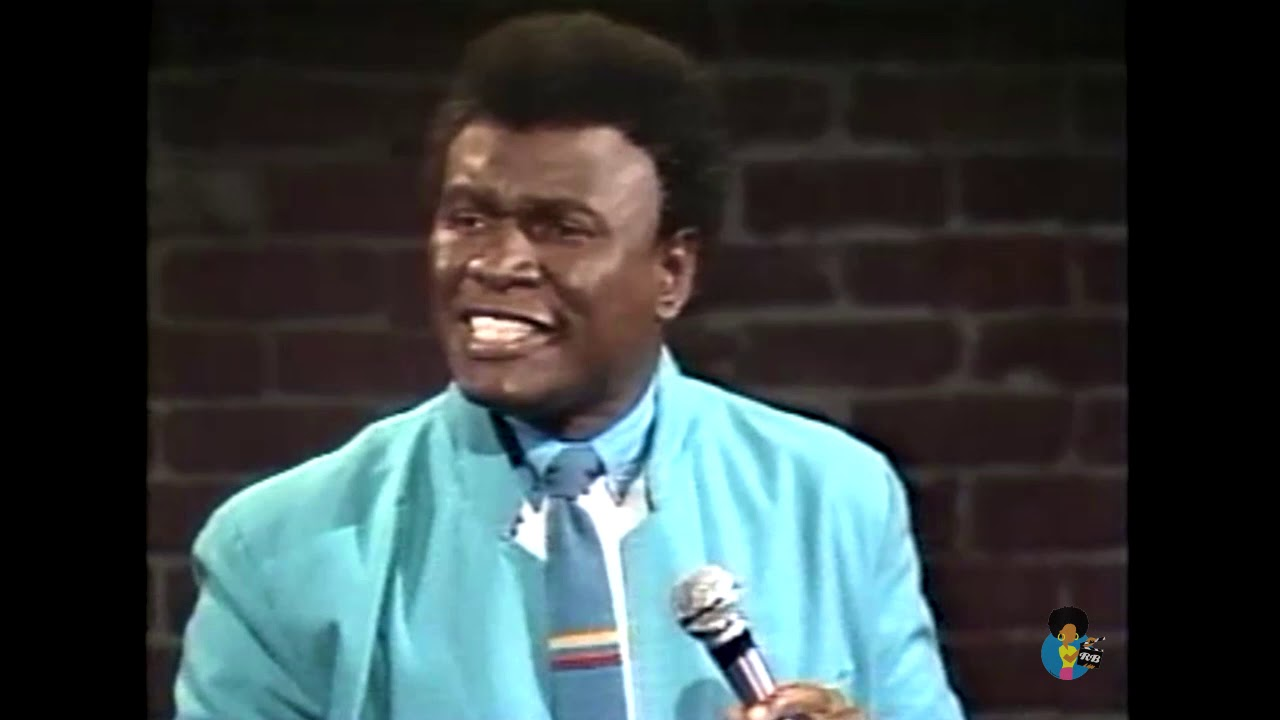 Comedian George Wallace in 1985