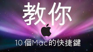 10個Mac上有用的快捷鍵