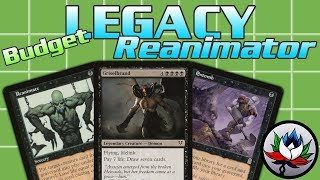 "mtg – best ""budget"" mono black reanimator legacy deck tech for magic the gathering"