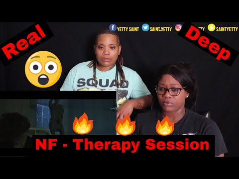 Mom reacts to NF  Therapy Session  Reaction Ft J100