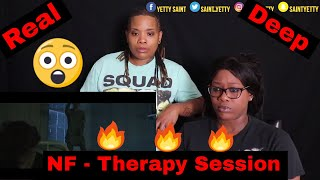 Mom reacts to NF - Therapy Session | Reaction Ft. J100