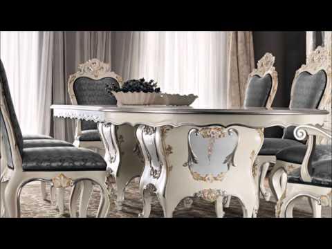 Classic dining room luxury interior design - Italian home decor
