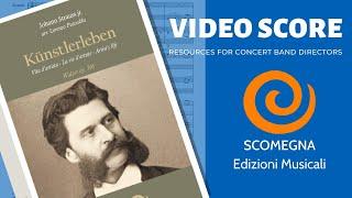 KÜNSTLERLEBEN - Johann Strauss Jr. , arr.  Lorenzo Pusceddu