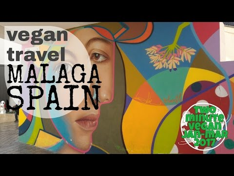 Vegan travel Malaga - 2 minute vegan