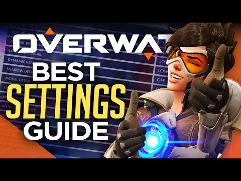 Overwatch: PRO SETTINGS Guide - Graphics, Controls, & Crosshairs (2018)