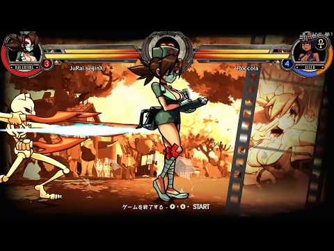Stop the time【Skullgirls】