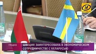 Швеция заинтересована в более тесном сотрудничестве с Беларусью