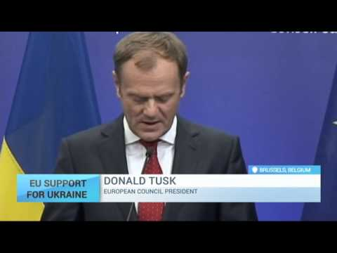 European Council president Tusk: EU doesn't recognize annexation of Crimea, sanctions should stay