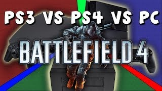 PS4 vs PS3 vs PC - Battlefield 4 -- Graphics Comparison