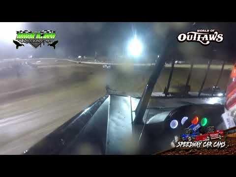 #29 Christian Hanger - World of Outlaws - 3-22-19 Duck River Raceway Park - In Car Camera