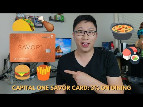 New Capital One Savor On Dining No Fx Fees Af