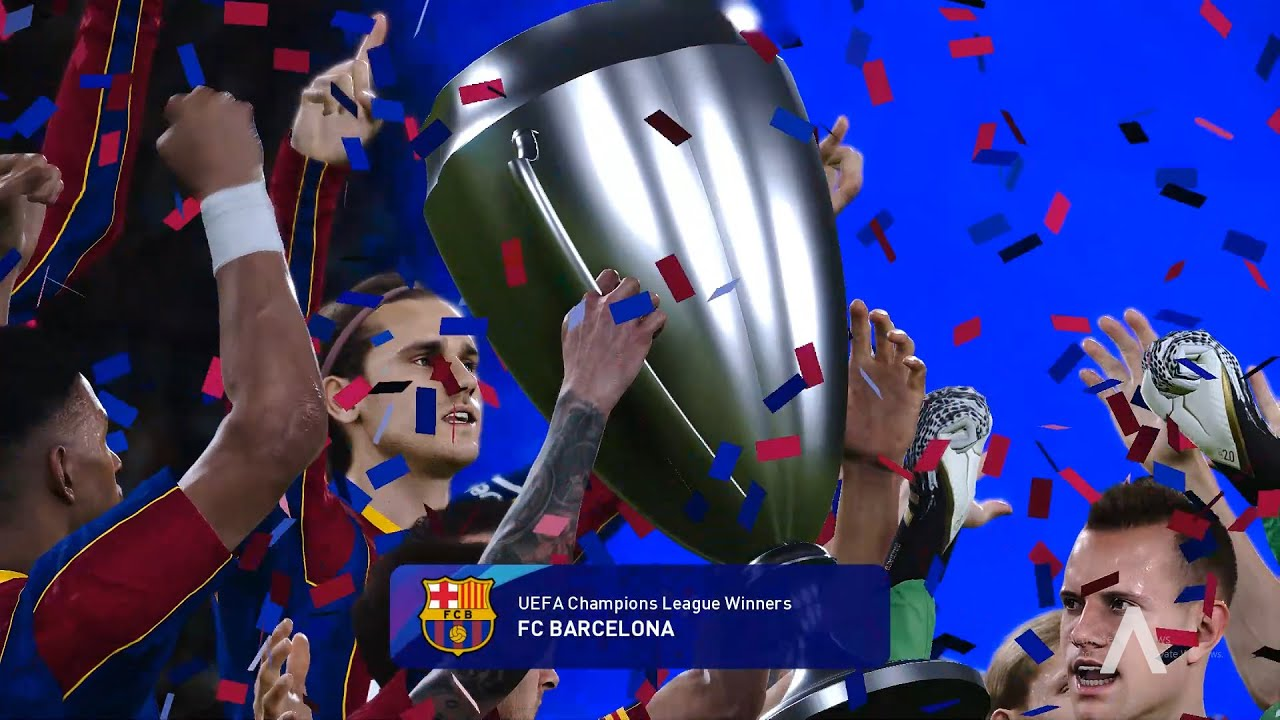 UEFA Champions League Final 2021 - FC BARCELONA v ...