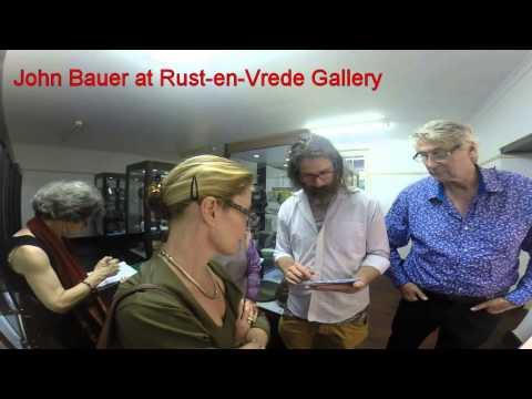 John Bauer at Rust-en-Vrede Gallery - 20 Jan 2015